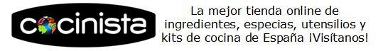www.cocinista.es - La mejor tienda online de ingredientes, especias, utensilios y kits de cocina de España.